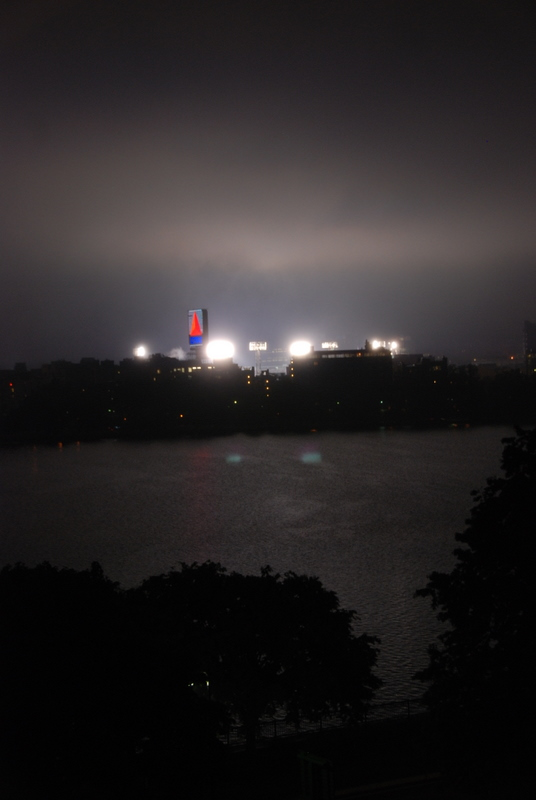 Fenway Lights From Our Place